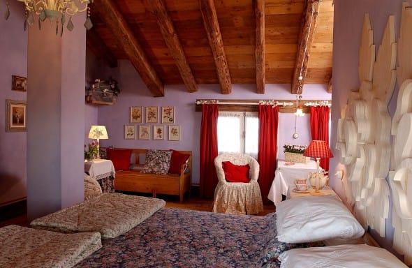 Le sei romantiche camere con vista dell 39 agriturismo for Pareti avorio perlato