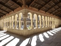 Il chiostro dell'abbazia di Follina
