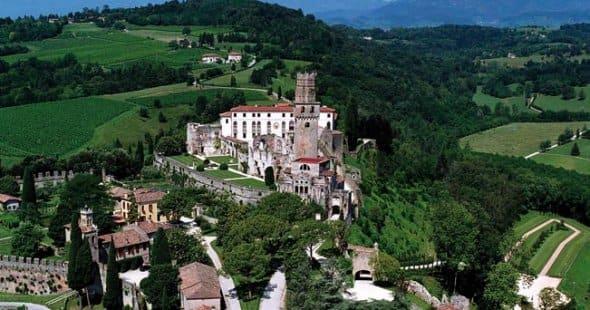 Il castello di San Salvatore a Susegana