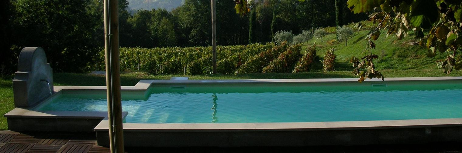 la piscina maso di villa